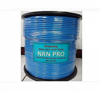 1 ROLL NRN PRO BIRU KABEL VIDEO SDI RG59