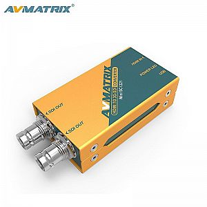 AVMATRIX HDMI to 3G-SDI Mini Broadcast Converter powered by USB
